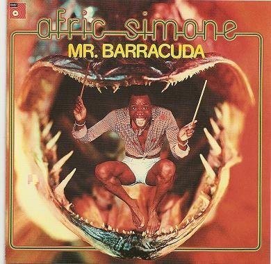 Caratula para cd de Afric Simone - Mr. Barracuda