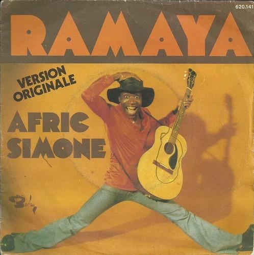 Caratula para cd de Afric Simone - Ramaya