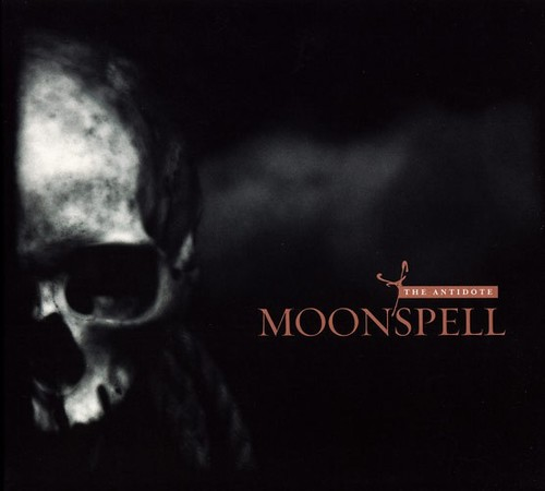 Caratula para cd de Moonspell  - The Antidote