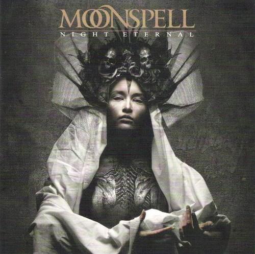Caratula para cd de Moonspell  - Night Eternal