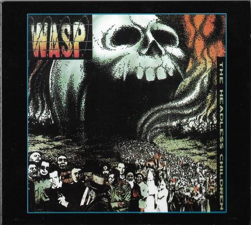 Caratula para cd de W.A.S.P. - The Headless Children