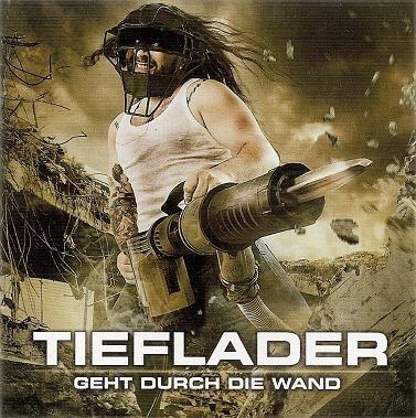 Caratula para cd de Tieflader - Geht Durch Die Wand (La Banda De Nightwish, Sin Tarja)
