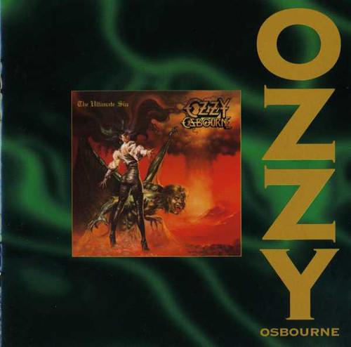 Caratula para cd de Ozzy Osbourne - The Ultimate Sin