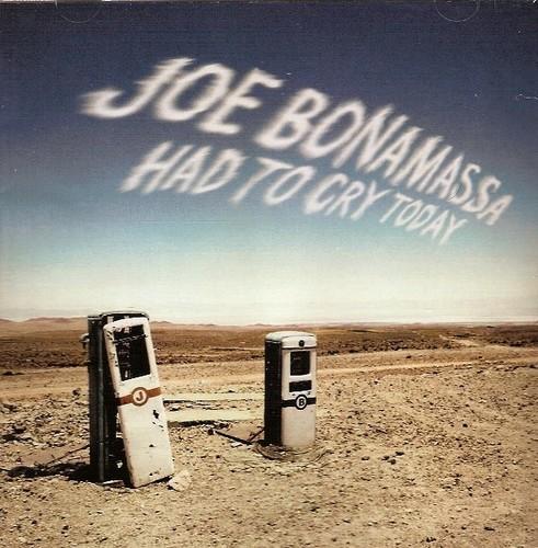 Caratula para cd de Joe Bonamassa  - Had To Cry Today