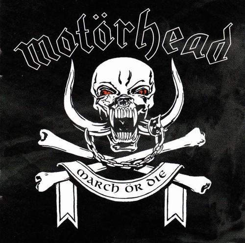 Caratula para cd de Motorhead - March Or Die