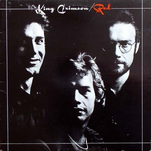 Caratula para cd de King Crimson - Red