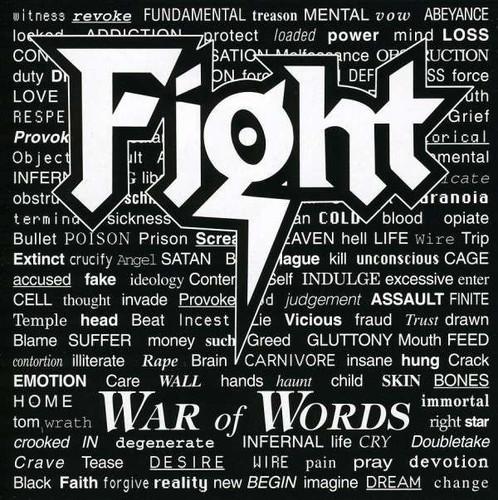 Caratula para cd de Fight - War Of Words