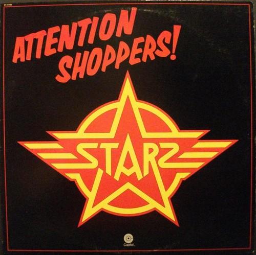 Caratula para cd de Starz - Attention Shoppers!
