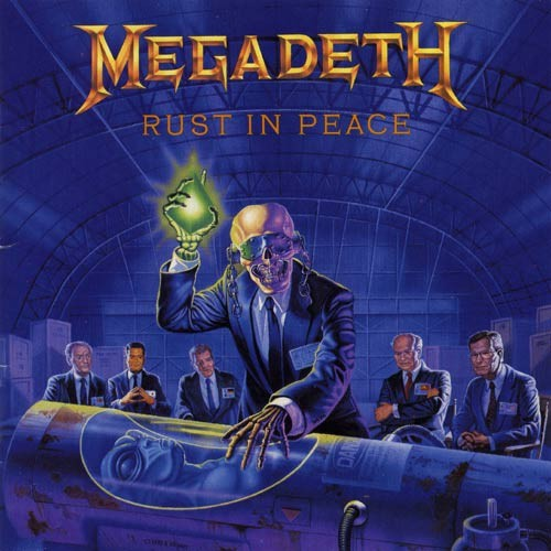 Caratula para cd de Megadeth - Rust In Peace