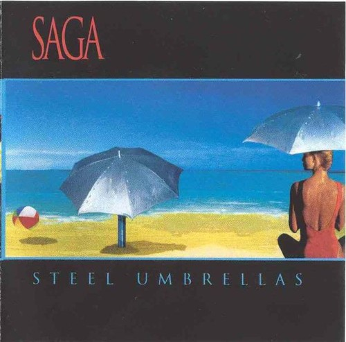 Caratula para cd de Saga - Steel Umbrellas