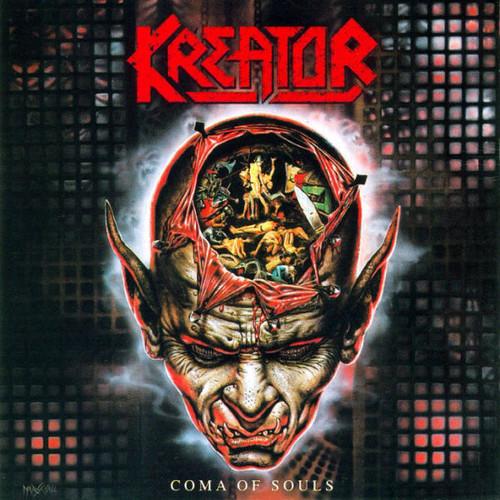Caratula para cd de Kreator - Coma Of Souls