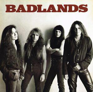 Caratula para cd de Badlands - Badlands