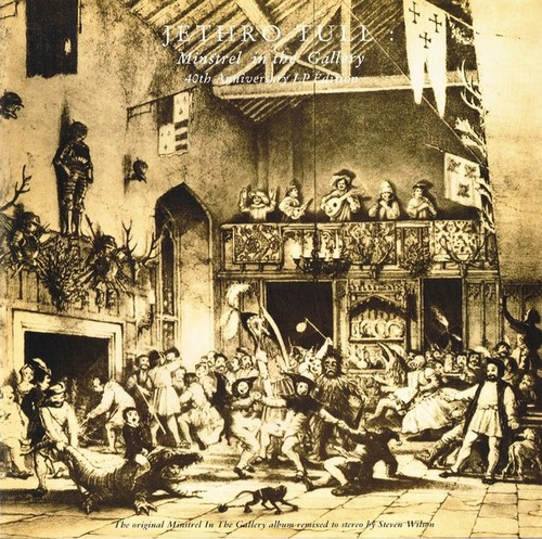 Caratula para cd de Jethro Tull - Minstrel In The Gallery (40th Anniversary Lp édition)