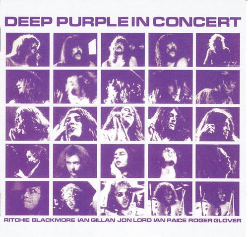 Caratula para cd de Deep Purple ( 2x Cd ) - In Concert