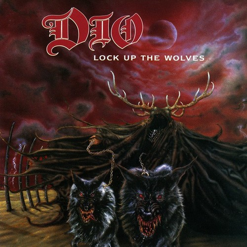 Caratula para cd de Dio - Lock Up The Wolves