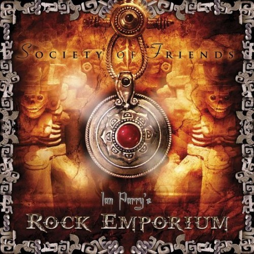 Caratula para cd de Ian Parry's Rock Emporium - Society Of Friends