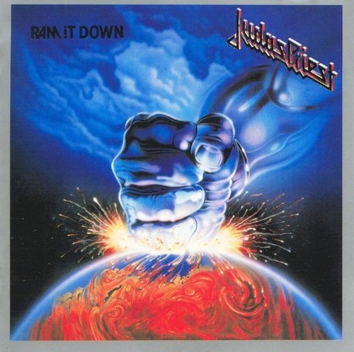 Caratula para cd de Judas Priest - Ram It Down
