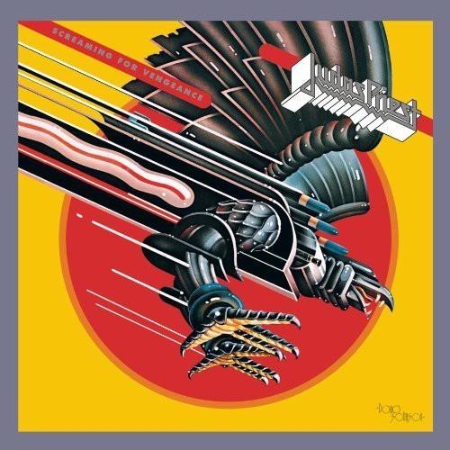 Caratula para cd de Judas Priest - Screaming For Vengeance