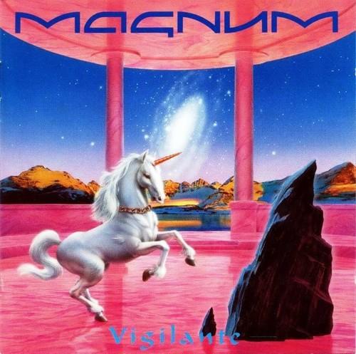 Caratula para cd de Magnum - Vigilante