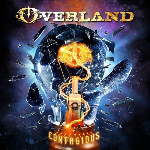Caratula para cd de Steve Overland - Contagious