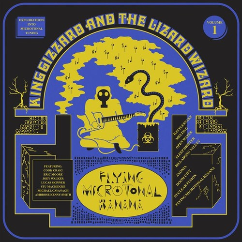 Caratula para cd de King Gizzard And The Lizard Wizard - Flying Microtonal Banana