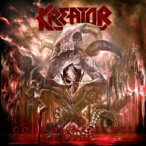 Caratula para cd de Kreator - Gods Of Violence