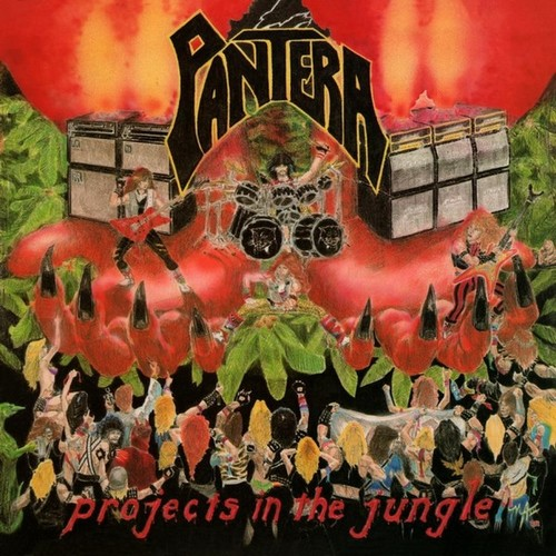 Caratula para cd de Pantera - Projects In The Jungle