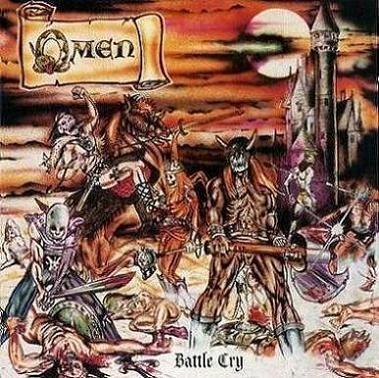 Caratula para cd de Omen  - Battle Cry