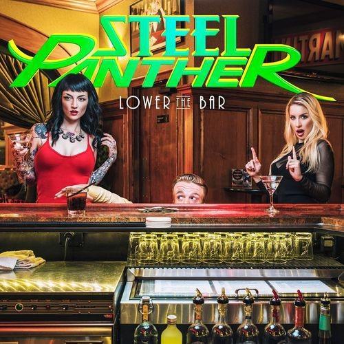 Caratula para cd de Steel Panther - Lower The Bar