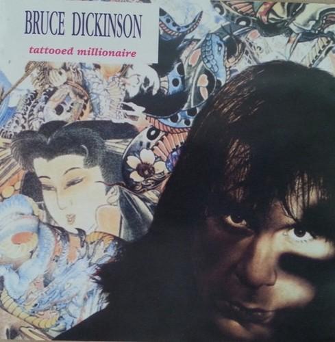 Caratula para cd de Bruce Dickinson - Tattooed Millionaire