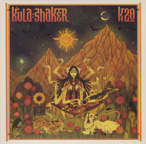 Caratula para cd de Kula Shaker - K2.0