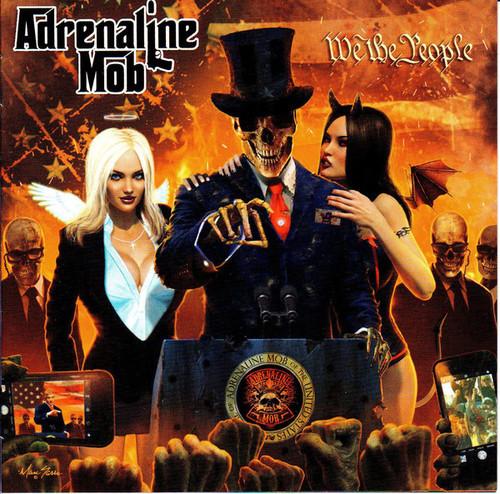 Caratula para cd de Adrenaline Mob - We The People