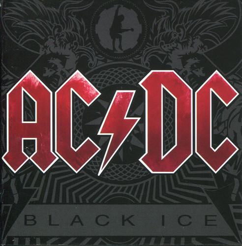 Caratula para cd de Ac/Dc - Black Ice