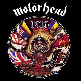 Caratula para cd de Motörhead - 1916