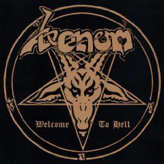 Caratula para cd de Venom - Welcome To Hell