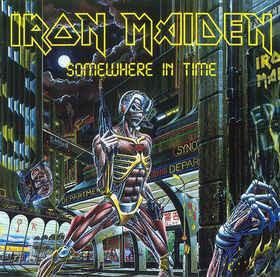 Caratula para cd de Iron Maiden - Somewhere In Time