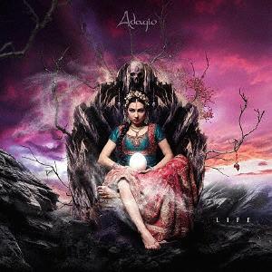 Caratula para cd de Adagio - Life