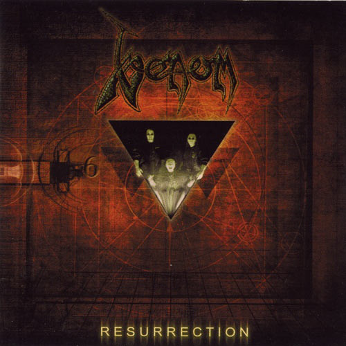 Caratula para cd de Venom 8 - Resurrection
