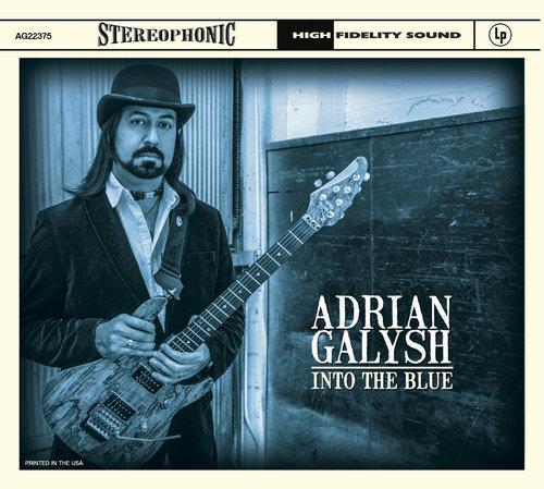 Caratula para cd de Adrian Galysh - Into The Blue