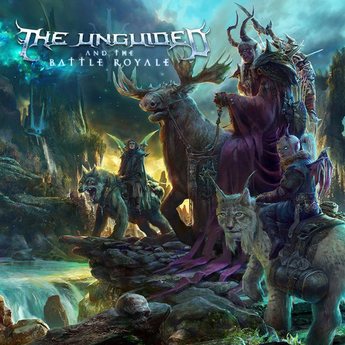 Caratula para cd de The Unguided - And The Battle Royale