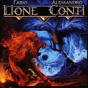 Caratula para cd de Fabio Lione / Alessandro Conti - Lione V Conti