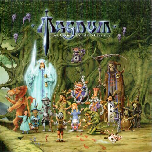 Caratula para cd de Magnum  - Lost On The Road To Eternity