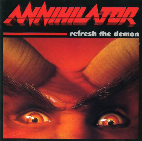 Caratula para cd de Annihilator  - Refresh The Demon