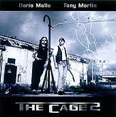 Caratula para cd de Dario Mollo - The Cage 2