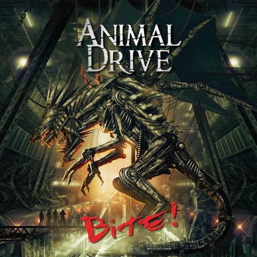 Caratula para cd de Animal Drive - Bite!