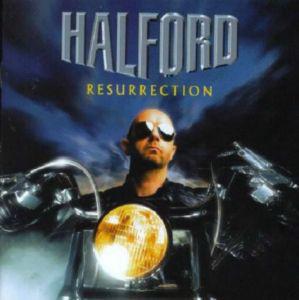 Caratula para cd de Halford - Resurrection
