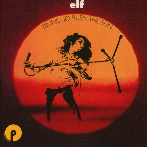 Caratula para cd de Elf  - Trying To Burn The Sun