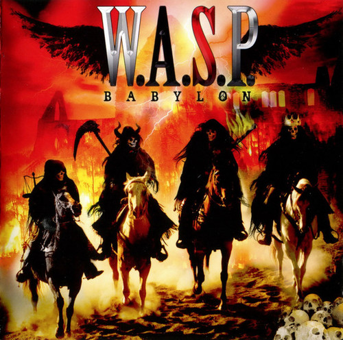 Caratula para cd de W.A.S.P. - Babylon