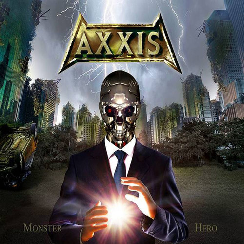 Caratula para cd de Axxis  - Monster Hero
