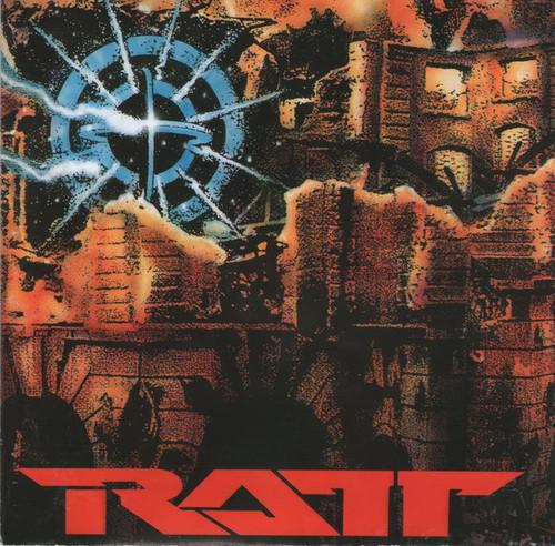 Caratula para cd de Ratt - Detonator